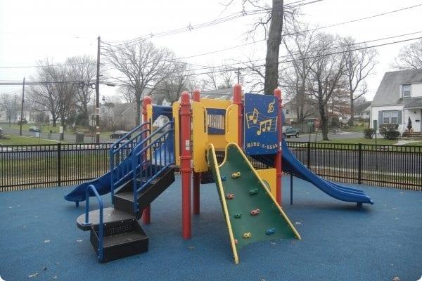 Garwood outside Playground