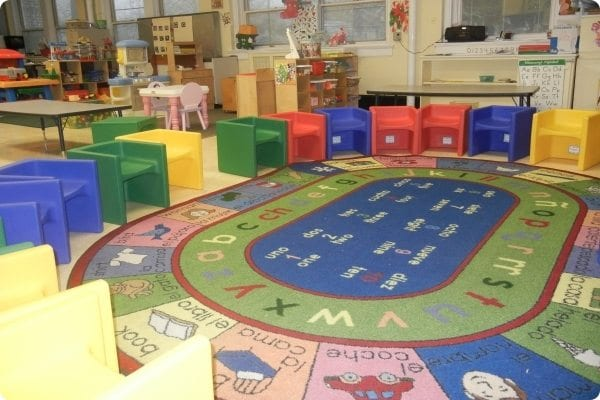 Garwood Family Center classroom