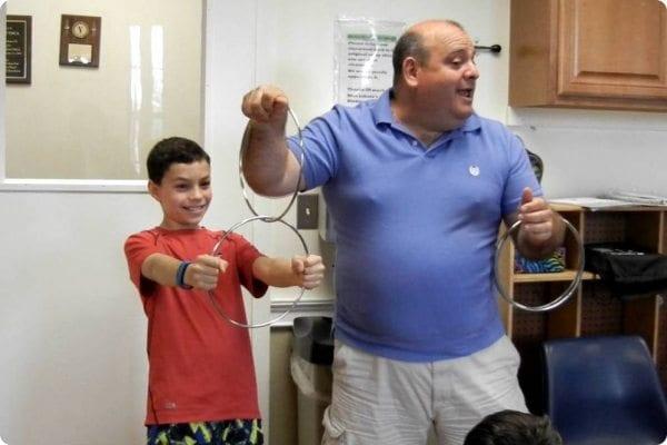 Children learn magic