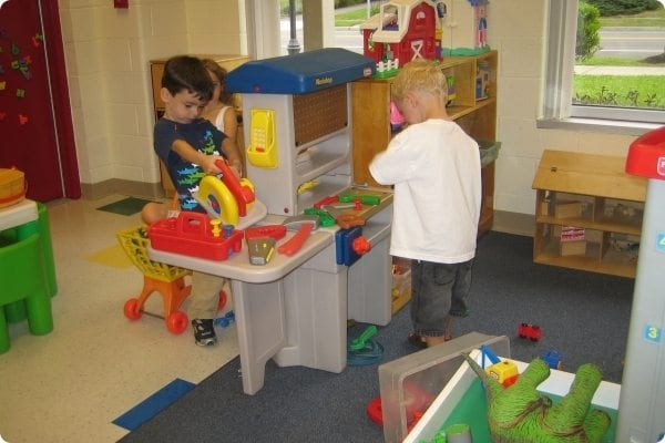 Play time at Preschool