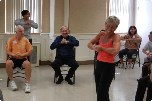 Active Adults in the Parkinson's class