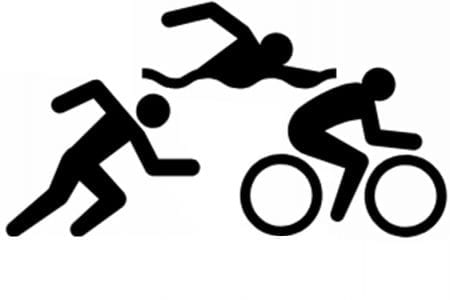 Triathlon Graphic
