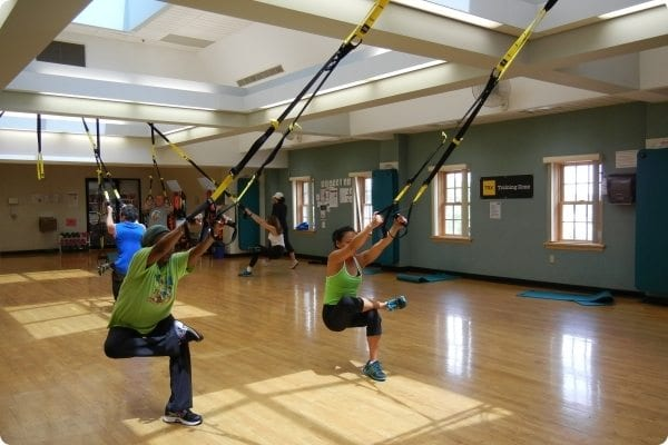 Group Class using TRX